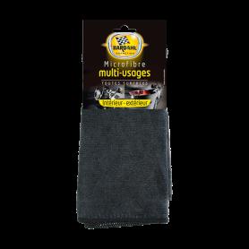 BLACK MULTIPURPOSE CLEANING MICROFIBER 12x1